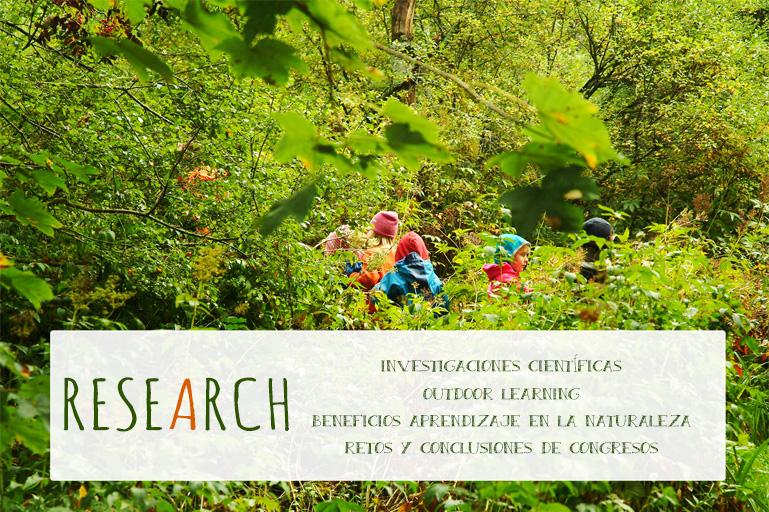 Investigaciones Científicas sobre la Naturaleza y los Niños