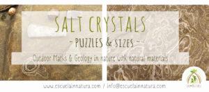 Cristales de Sal - Outdoor Maths
