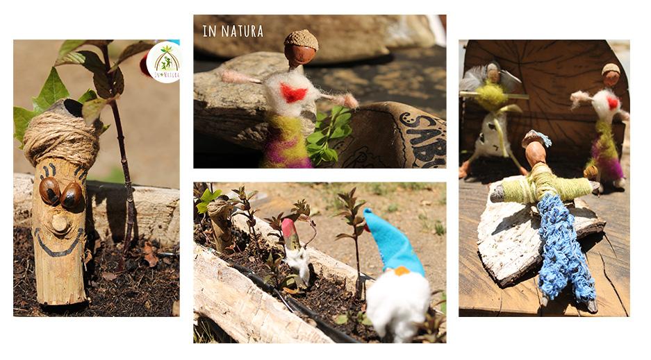 cómo crear personajes con materiales naturales