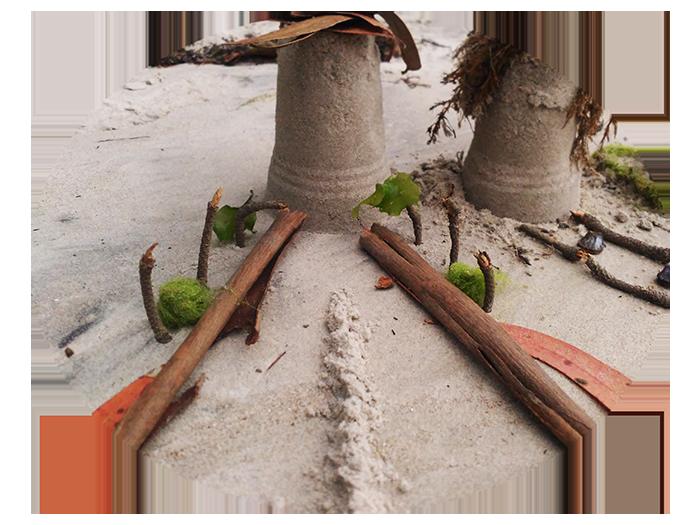 minimundos en la playa 2