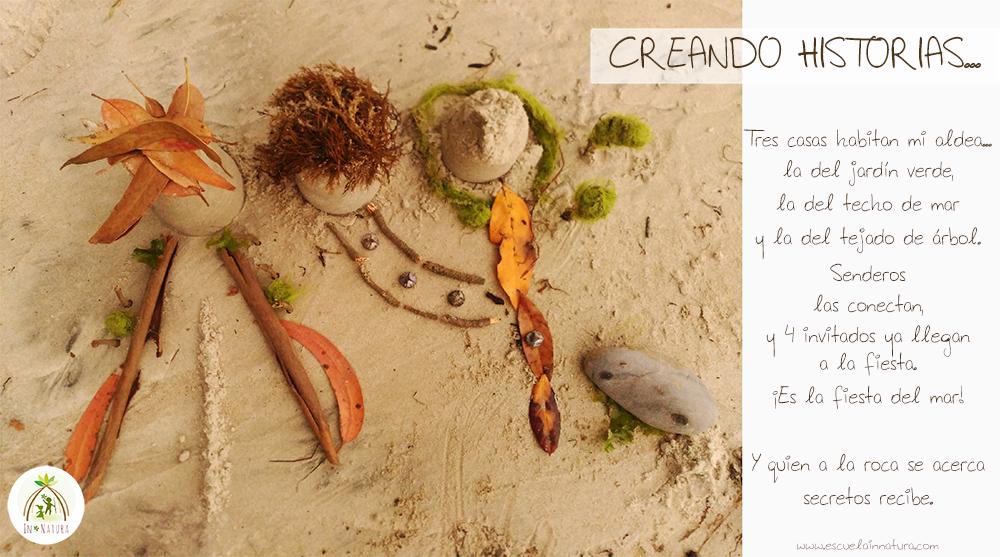 Mini mundos en la Playa