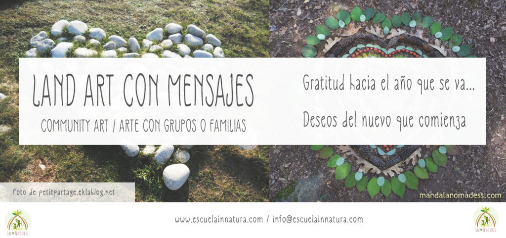 Land Art con Familias