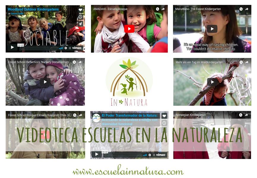 Videoteca de Escuelas en la Naturaleza