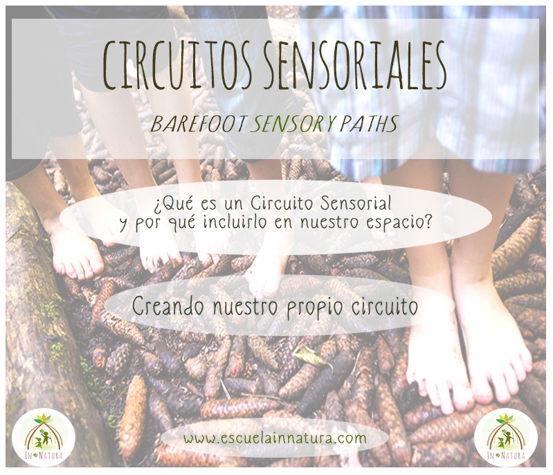 Circuitos Sensoriales - Barefoot Sensory Paths for Kids