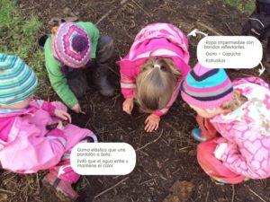 ropa outdoor para niños