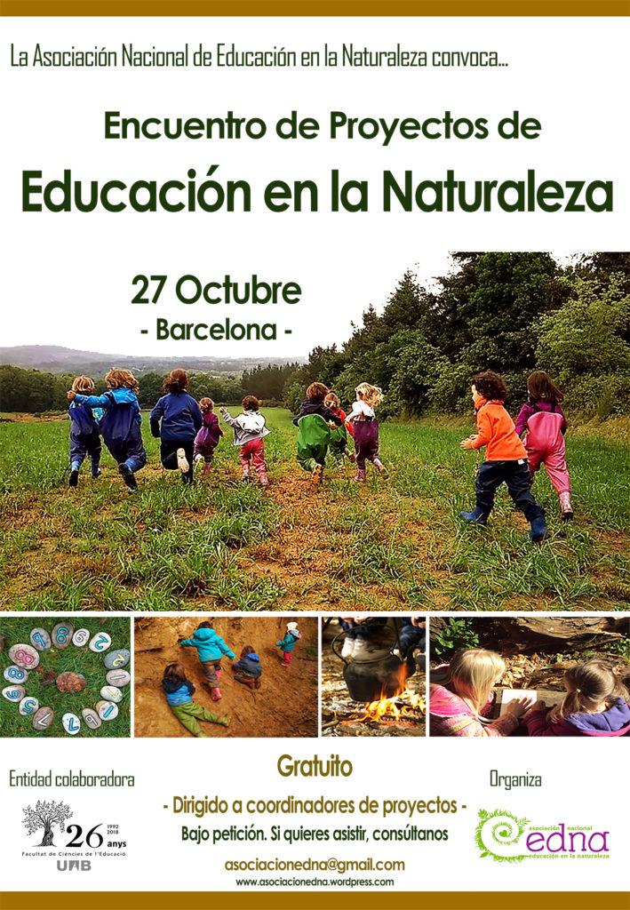 Encuentro educación en la naturaleza barcelona