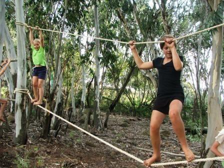 puente mono para niños