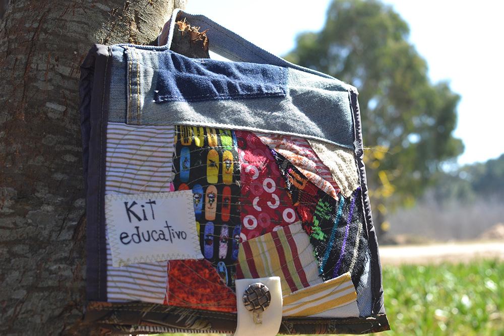 kit educativo sobre lombrices