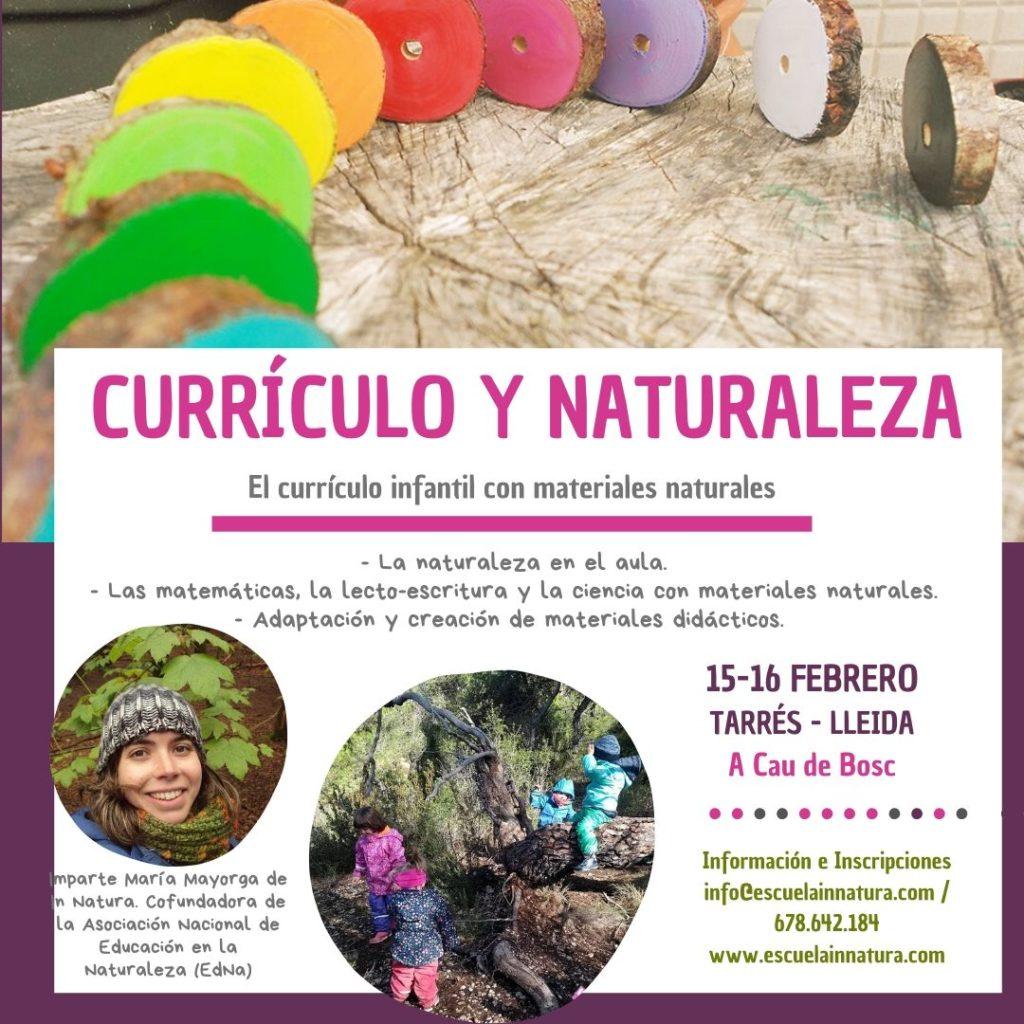 Curso Curriculo y Naturaleza