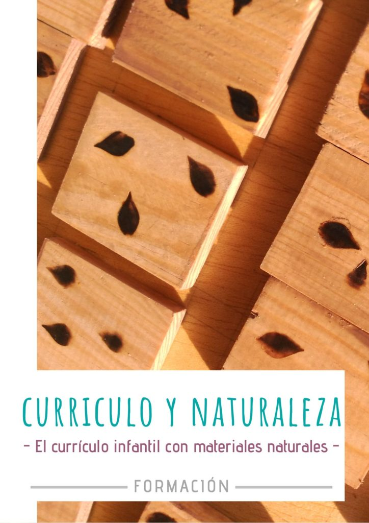 curriculo infantil con materiales naturales