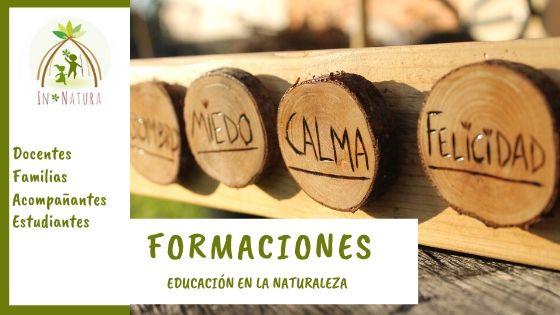 Formaciones Educacion Naturaleza