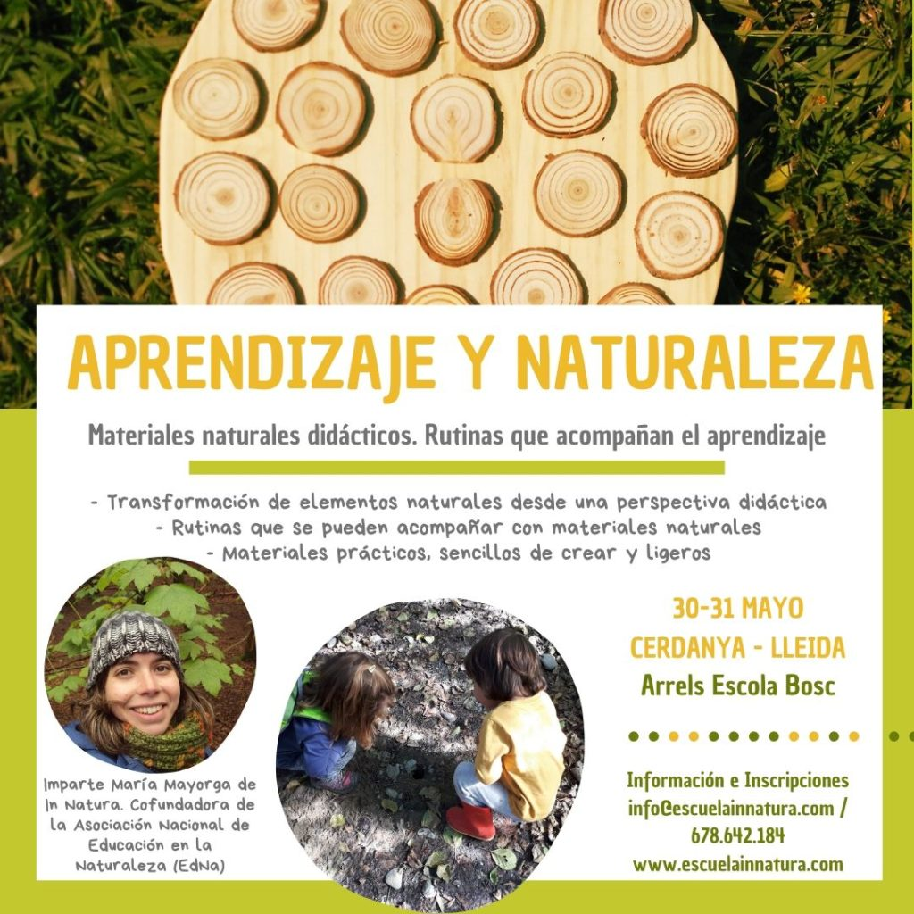 Aprendizaje y Naturaleza. Materiales naturales didácticos