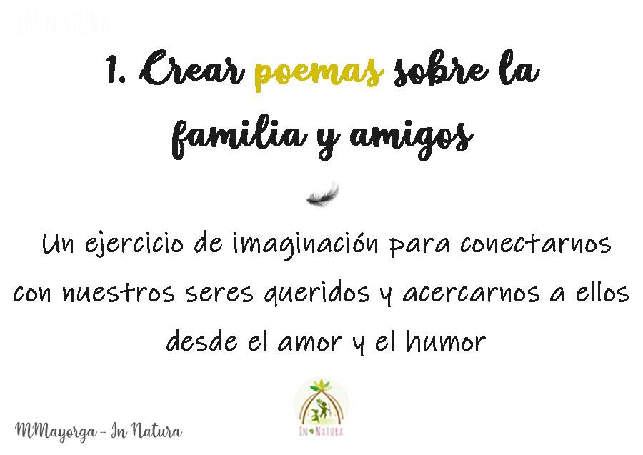 poemas sobre la familia y los amigos