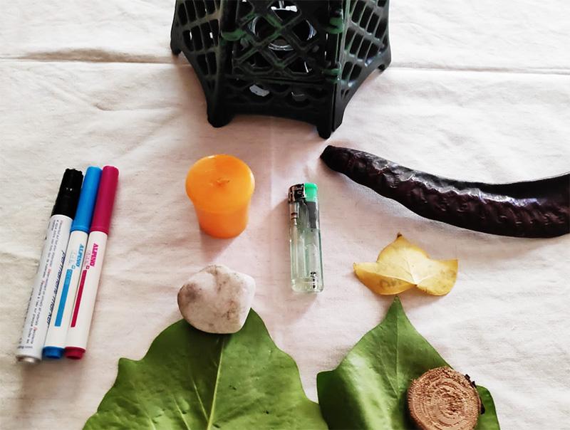 Materiales - Ritual día de la madre