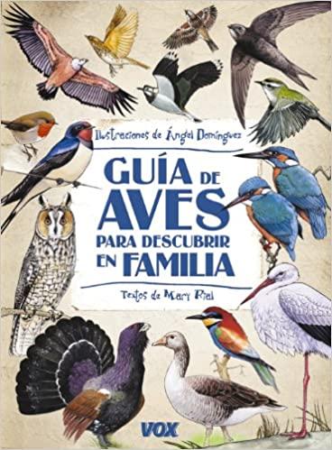 Guía aves para descubrir en familia