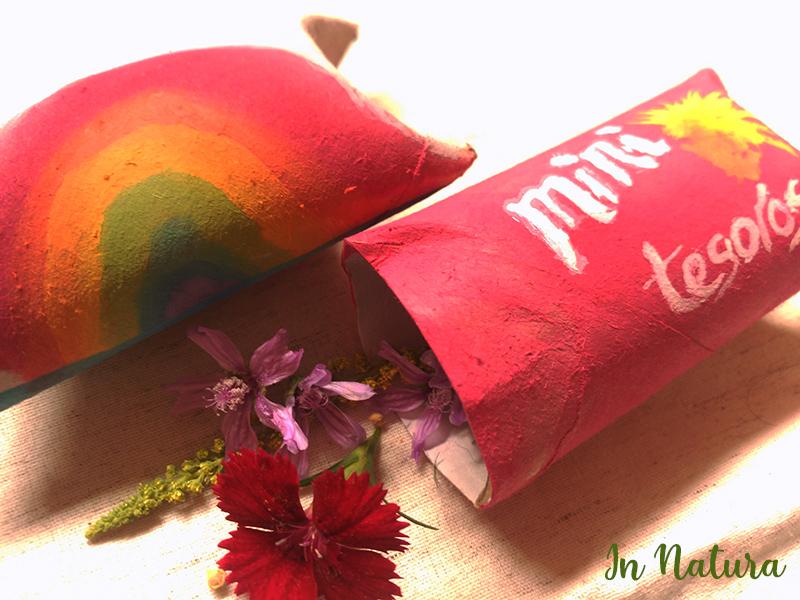 Cajas pintadas para guardar flores