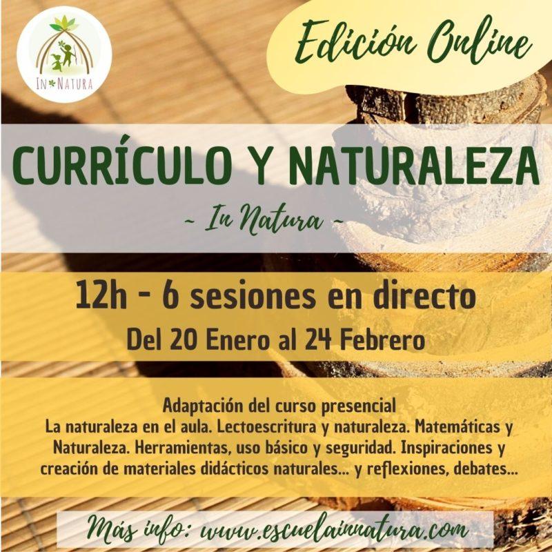 cartel currículo y natu online