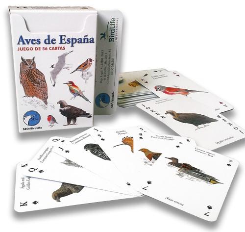 CARTAS DE AVES DE eSPAÑA sEO bIRDLIFE