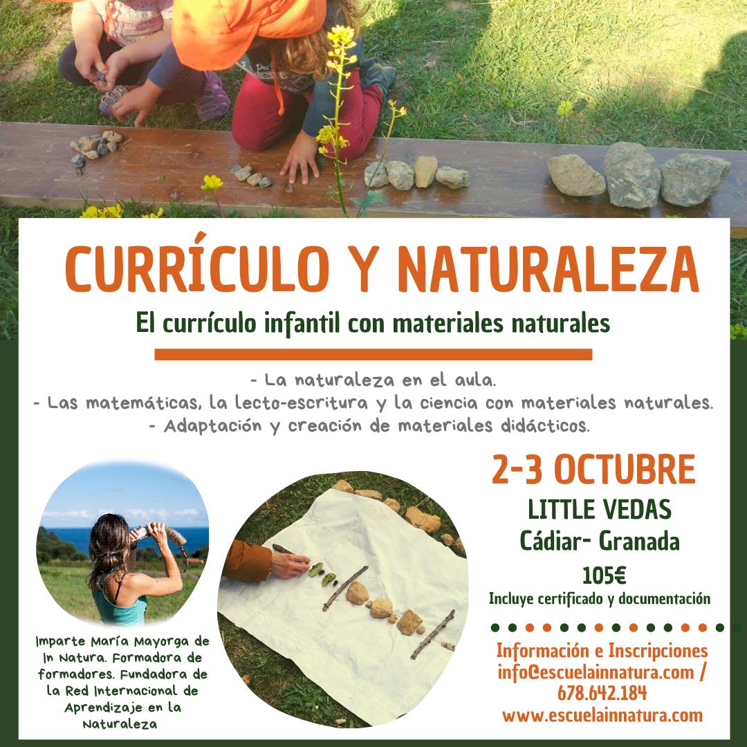 cartel - Little Vedas Currículo y Naturaleza