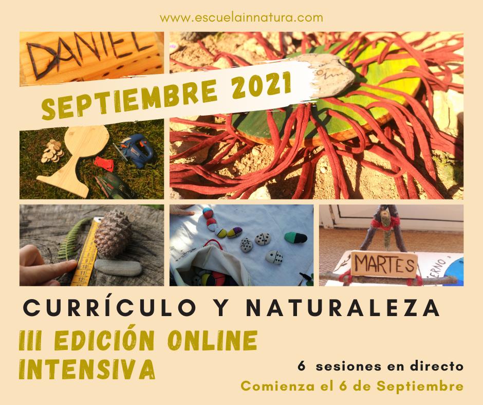 Currículo y Naturaleza- ONLINE SEPTIEMBRE
